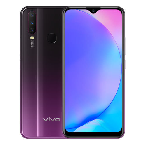 vivo y17 purple